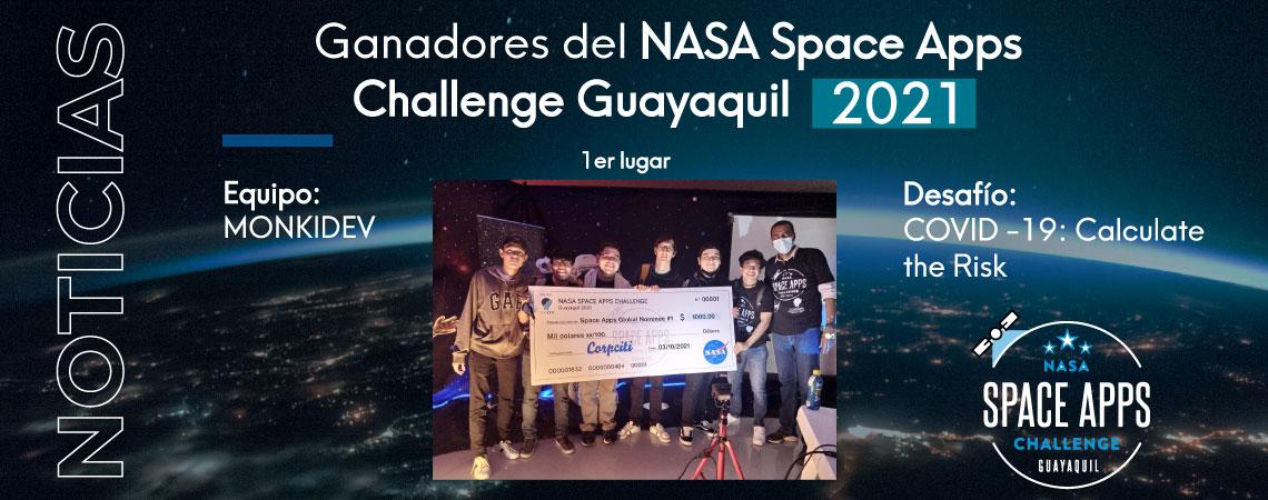Ganadores hackaton Nasa 2021